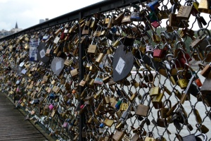Padlocks of Love, Paris.