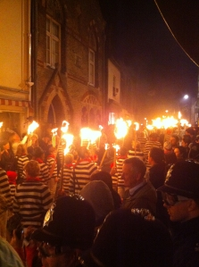 Parade on Bonfire Night